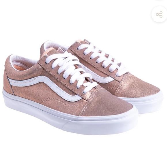 Vans Rose Gold Old Skool Sneakers